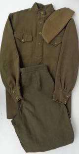 Soviet WW2 Officers Tunic Trousers and Pilotka (cap)