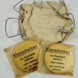 Wehrmacht M31 Gasmask Cleaning Cloth Spring