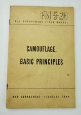 US WW2 Field Manual FM 5-20 Camouflage