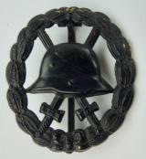 Imperial German Wound Badge Black (Worked Open)